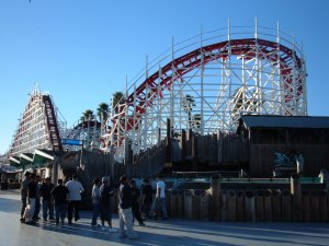 The Giant Dipper in Santa Cruz, California (photo from Wikipedia)