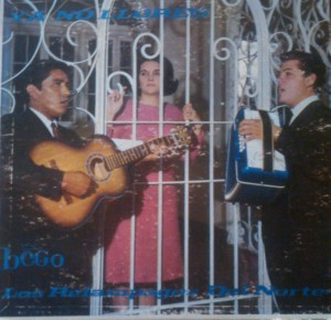 "The cover from Ramon Ayala's first album, ""Ya No Llores"" with Los Relampagos de Norte  (Fred. O. García  Collection)"