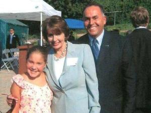 Hanging out with Marisa and Speaker of the House Nancy Pelosi. (personal photo)