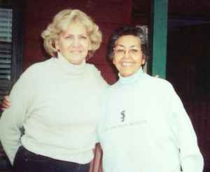 My sister Patty (1953-2003) & (1930-2003) in early 2003. Sandra and Eddie García family photo)