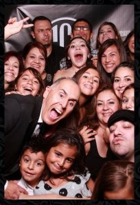 Celebrating my daughter Erica's quinceañera -  November 3, 2012 (Sandra and Eddie García family photo)