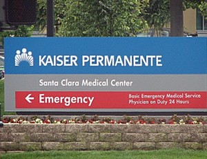 Kaiser Santa Clara Medical Center Emergency Entrance (image by www.flickr.com) Click on image to read all excerpts