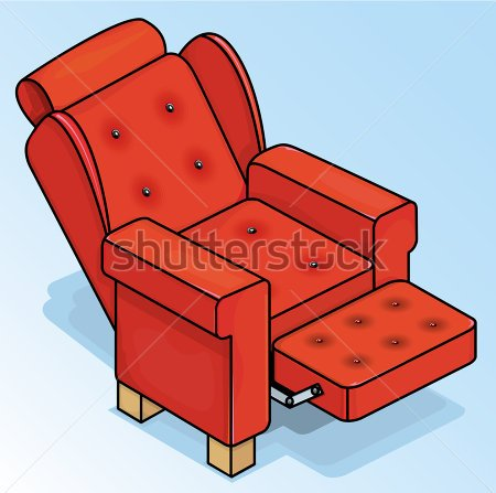 stock-vector-vector-drawing-of-a-reclining-red-chair-red-chair-easy-to-edit-layers-and-groups-no-weird-effects-213394192